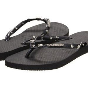 Havaianas Slim Skull Hardware Sandals